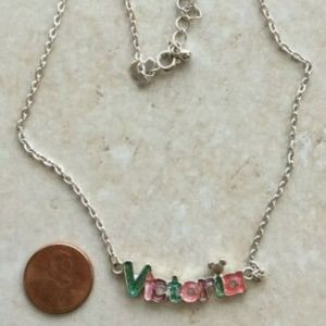 "Disney VICTORIA 14"" Necklace"